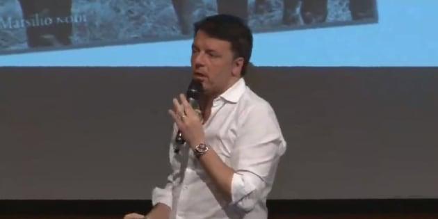"""Matteo Renzi: """"Siamo quelli che restano e non mollano mai"""""""