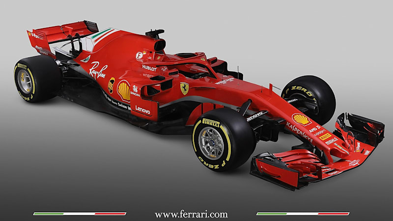 Ferrari S New Sf71h Formula One Car Unveiled Autoblog