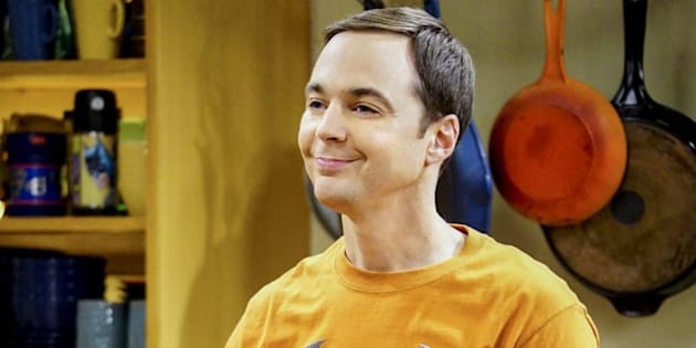 Sheldon Cooper (Jim Parsons) en 'The Big Bang Theory'.