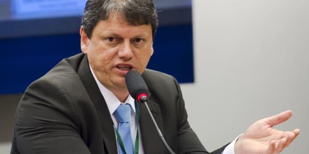 O ex-diretor do Departamento Nacional de Infraestrutura de Transportes (DNIT) Tarcísio Gomes Freitas, que será ministro de Infraestrutura de Bolsonaro.