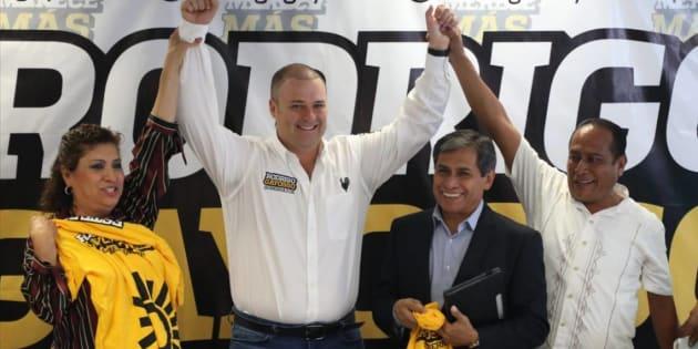 En WhatsApp circula un comunicado que afirma que priistas, panistas y el candidato independiente le darían el apoyo al hijastro del actual gobernador de la entidad, Graco Ramírez.