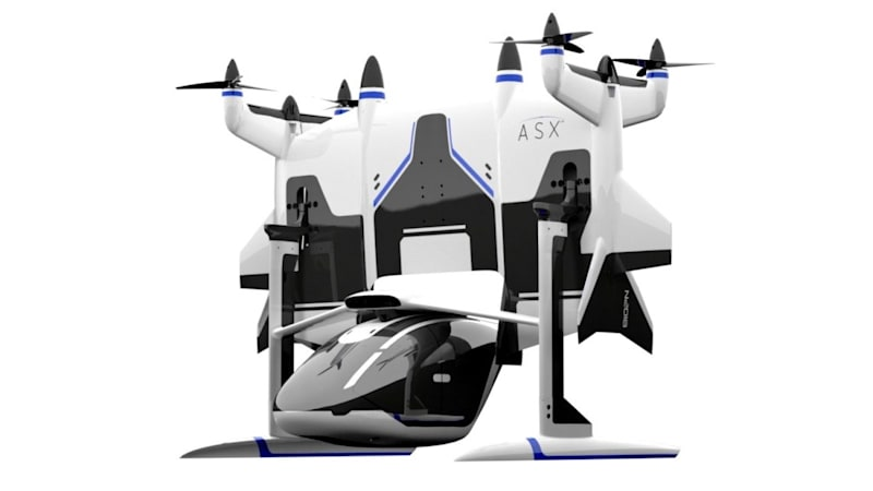 photo image Passenger drones are 'absolutely coming. ... They're flying as we speak'