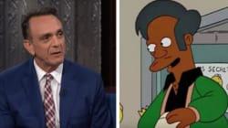 Face à la polémique, l'acteur qui double Apu dans