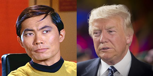 "Donald Trump dit son amour de ""Star Wars"" à George Takei de ""Star Trek"" qui a eu la meilleure réaction"