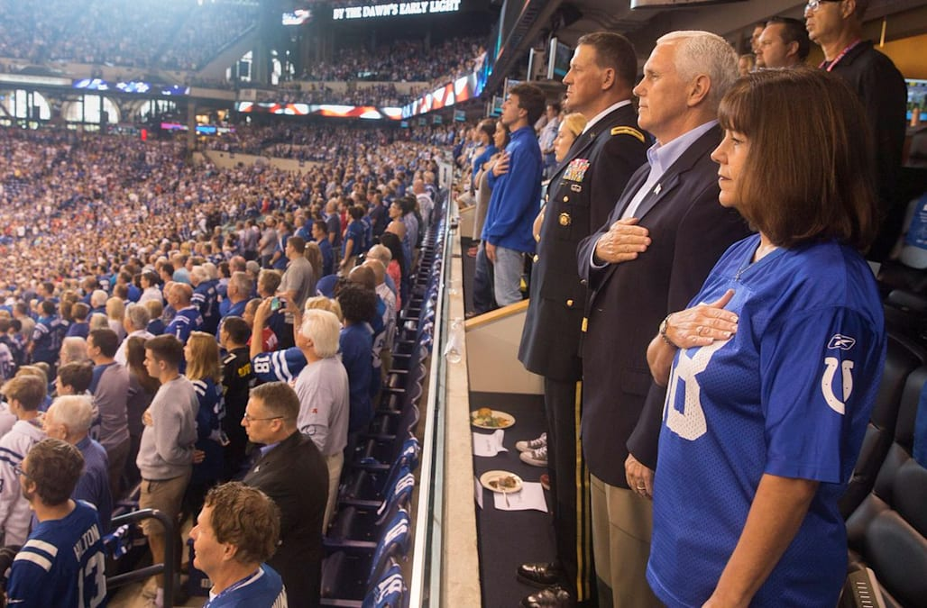 Mike Pence's NFL protest cost police department $14,000