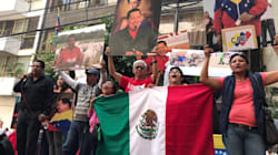Mexicanos apoyan a los venezolanos, ¡en el