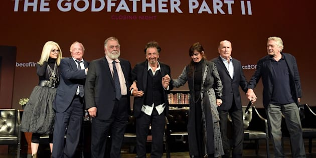 """The original cast of the iconic """"Godfather"""" movie."""