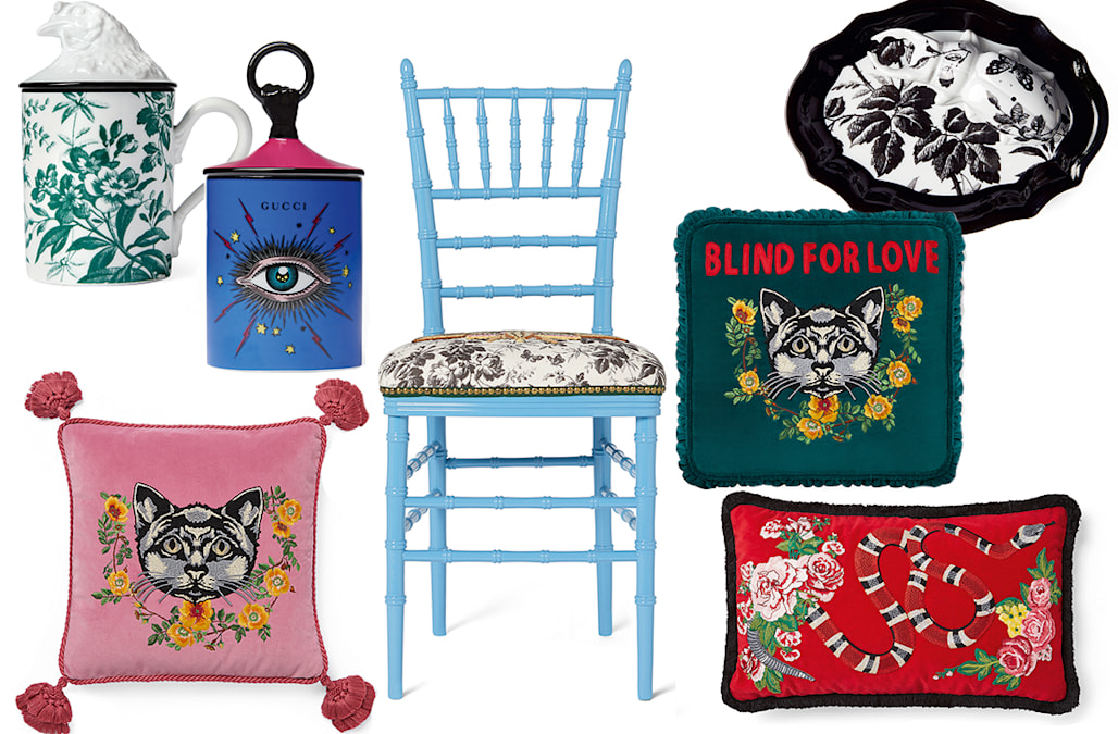 00094daa1fe6 Gucci is launching a décor collection this fall
