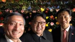 Balade et selfie, Kim Jong Un profite de sa soirée à
