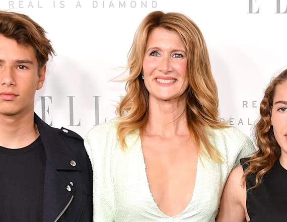 Laura Dern steps out with gorgeous children
