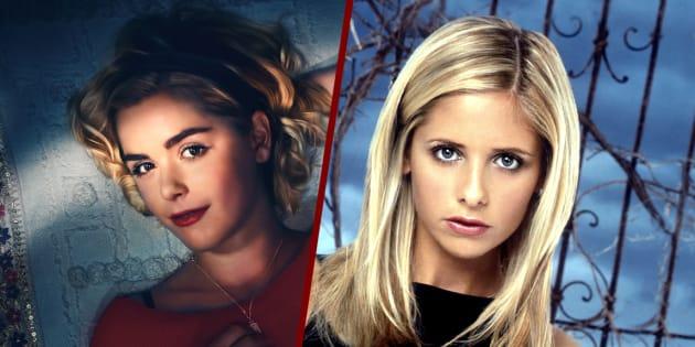 """""""Les Nouvelles Aventures de Sabrina"""" de Netflix est comparé à """"Buffy"""". A raison ?"""