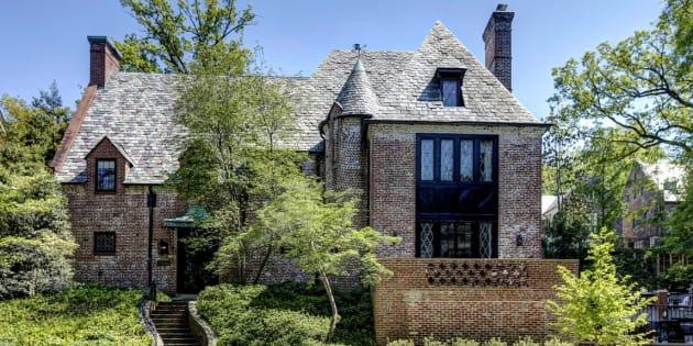 Voilà la maison que les Obama viennent de s'offrir pour 8 millions de dollars à Washington