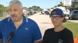 Le père d'un survivant de la fusillade en Floride avait réussi à s'échapper de celle de Las