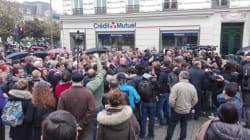 Manifestation des élus de la droite francilienne contre une prière de rue à