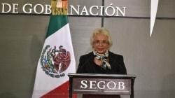 Olga Sánchez Cordero asume la Secretaría de