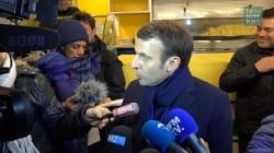 À Hénin-Beaumont, Macron s'adresse aux électeurs FN :