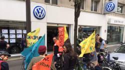 Après la pub Volkswagen au Stade de France, ces cyclistes ont rendu visite à un