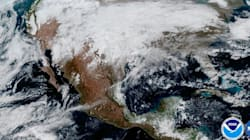 The First Pictures From NASA's Newest Weather Satellite Are