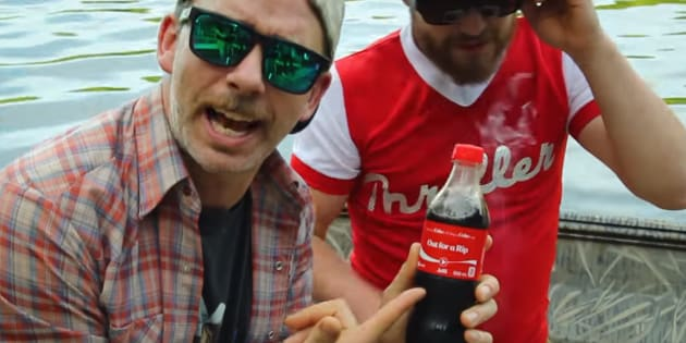 "Kingston, Ont.'s viral hit-maker Brendan Richmond says Coca-Cola stole his catchphrase, ""Out For a Rip."""