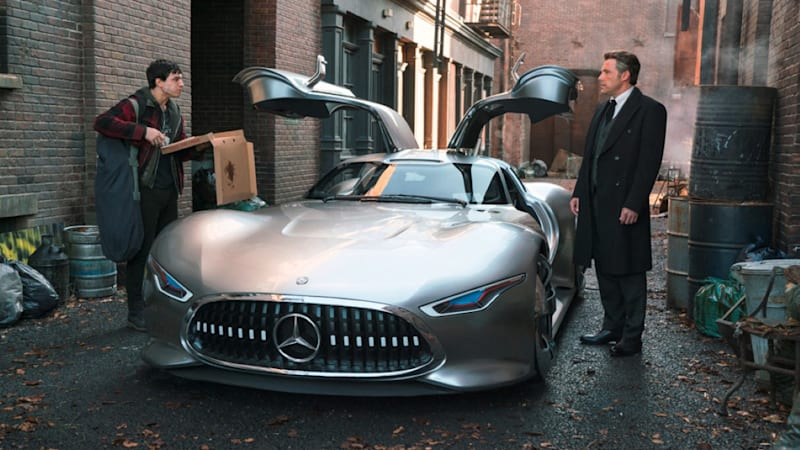Mercedes-AMG Vision Gran Turismo is Bruce Wayne's custom-fitted new ...