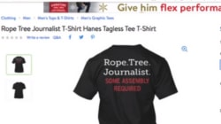 Walmart Pulls 'Rope Tree Journalist' Shirt From Online
