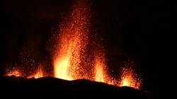 Les superbes images de l'éruption du Piton de la Fournaise à la
