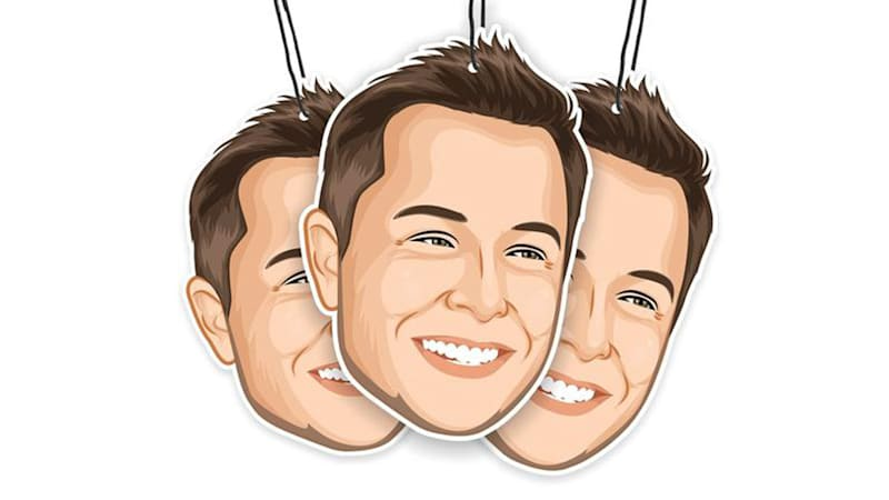 Elon's Musk Air Freshener: The perfect gift for any Tesla owner