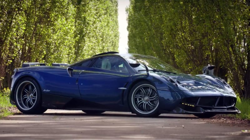 pagani huayra pearl is powerful blue and one of a kind autoblog. Black Bedroom Furniture Sets. Home Design Ideas