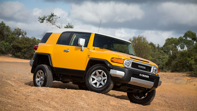 Toyota Fj Cruiser Ends Worldwide Production In August