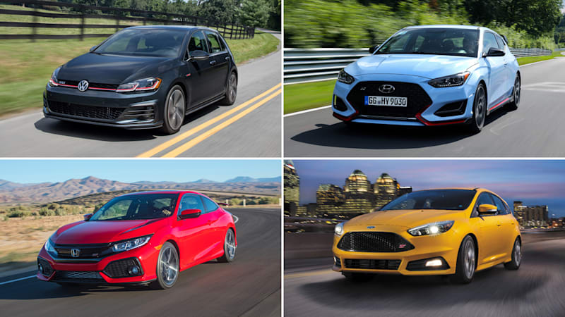 2019 Hyundai Veloster N Compared With Hot Hatchbacks Autoblog