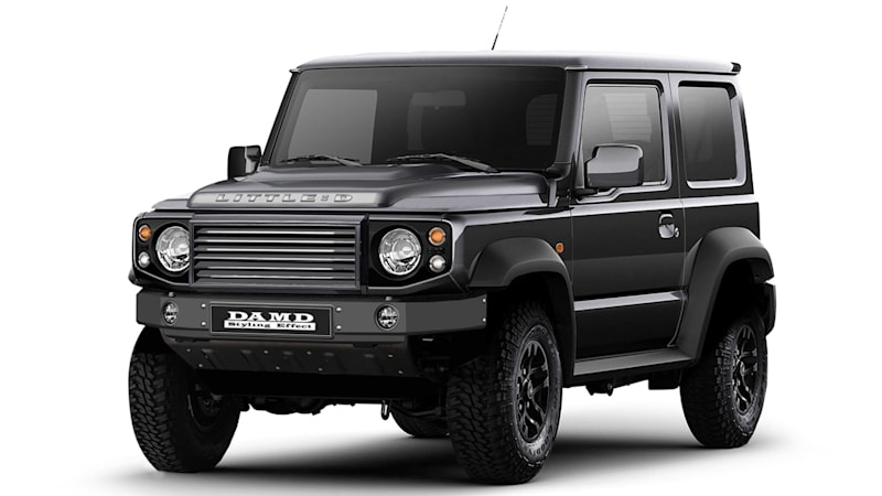 Little D Body Kit Turns Suzuki Jimny Into Defender Wannabe Autoblog