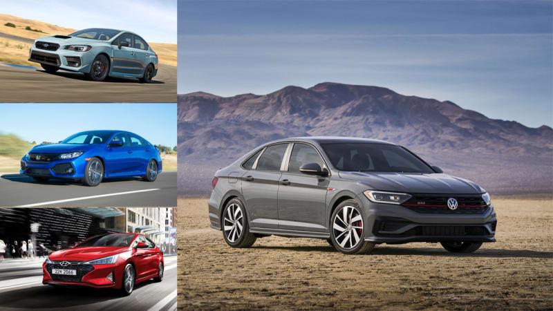 2019 VW Jetta GLI vs Honda Civic Si, Subaru WRX and Hyundai