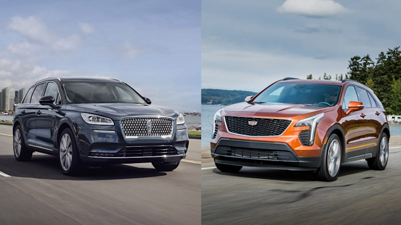 2020 Cadillac XT4 Redesign, Specs, And Price >> 2020 Lincoln Corsair 2019 Cadillac Xt4 Specs Compared Autoblog