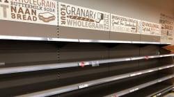 Ruée sur le pain en Irlande en vue de la tempête