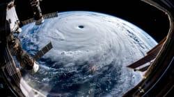Les images impressionnantes du typhon Trami, qui menace le Japon, prises depuis