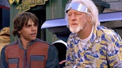 Mark Hamill Posts 'Star Wars' And 'Back To The Future' Mashups, And Great Scott They're