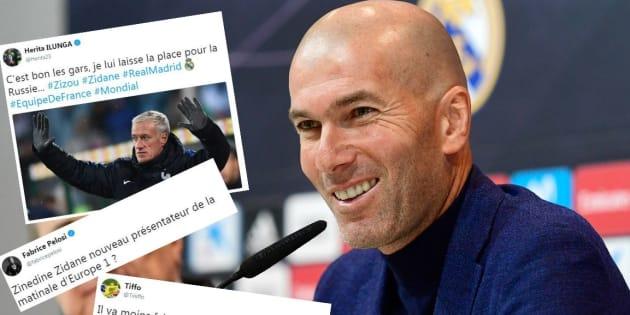 Hasil gambar untuk zinedine zidane quitte real madrid