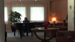 Grillo si rilassa al pianoforte e caccia la
