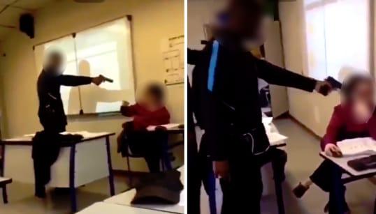 Le lycéen qui a braqué sa professeure mis en examen pour