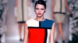 C'est grâce à cette robe de Saint Laurent que Mondrian a connu le