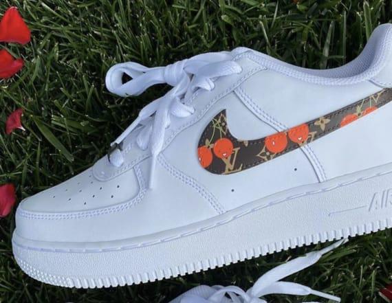 The 'Sneaker Mechanic' turns heads with custom kicks