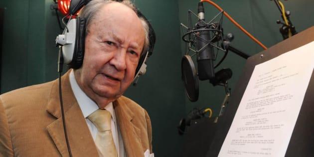 """Mort de Peter Sallis, la voix du Wallace de """"Wallace et Gromit""""."""