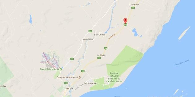 Accident majeur à Saint-Tite-des-Caps — DERNIÈRE HEURE