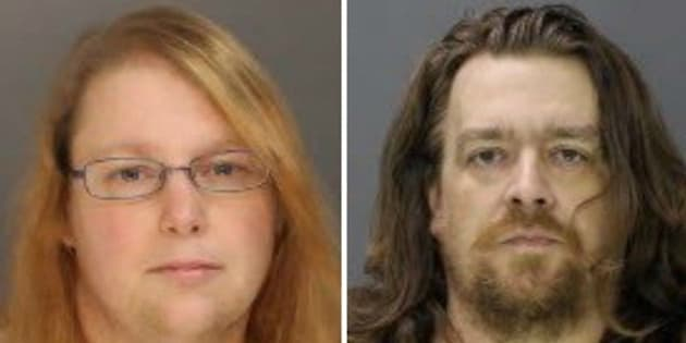 Sara Packer left and Jacob Sullivan are accused of killing 14-year-old Grace Packer