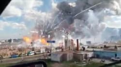 VIDEO: Así fue la explosión en