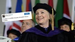 Clinton profite du