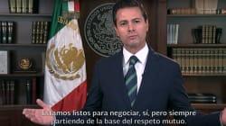 La respuesta de Peña Nieto a Trump: ¿el inicio de una doctrina en política