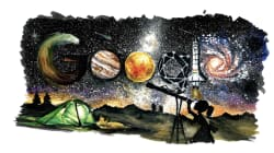 Google Celebrates With Doodle On Space