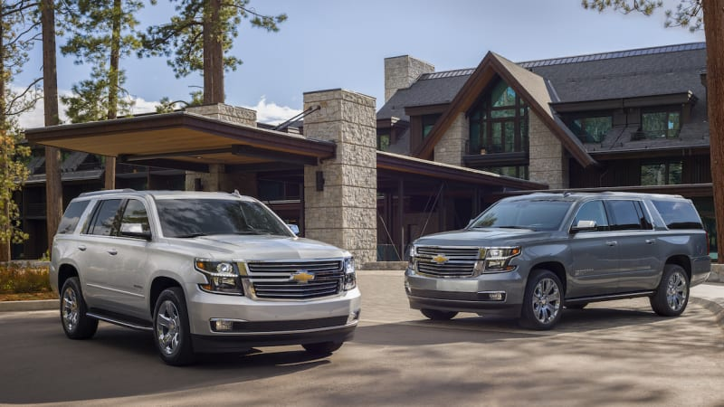 Chevy Adds 420-hp V8 Trim To 2019 Tahoe And Suburban