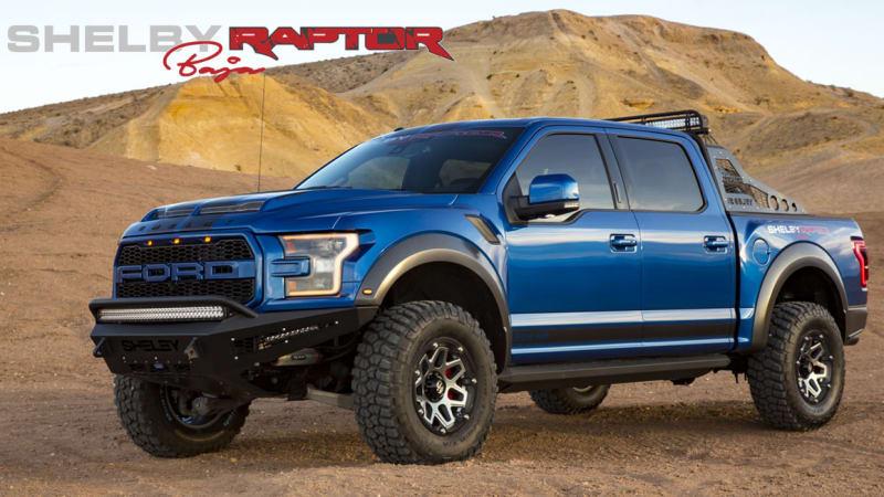 Meet the 525 horsepower Shelby Baja Raptor, the Cobra of trucks
